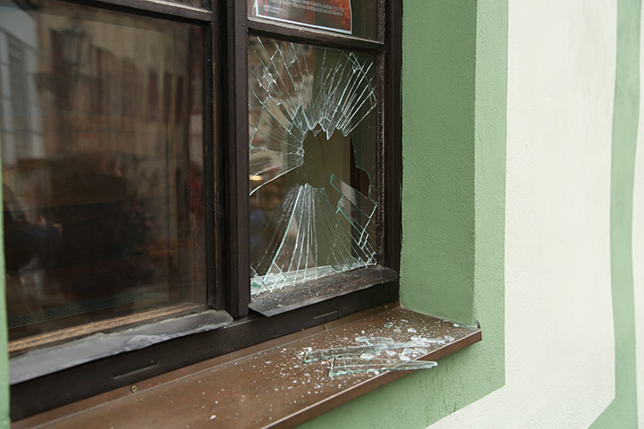 A2B Glass are able to board up broken windows while they are being repaired in Friern Barnet.